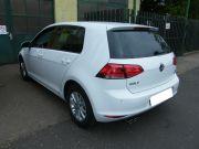 Volkswagen Golf VII dupla csöves kipufogó hátsódob kerek saválló díszvéggel