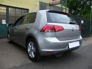 Volkswagen Golf VII kipufogó optikai tuning