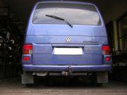 Volkswagen Multivan TDi kipufogó hátsó dob