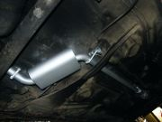 Volkswagen Passat III. 1.6 turbo diesel utángyártott középső kipufogódob csővel