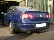 Volkswagen Passat kipufogó optikai tuning