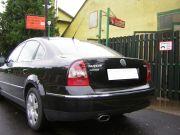Volkswagen Passat pdtdi rozsdamentes ovál kipufogó véggel
