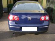 Volkswagen Passat rozsdamentes kerek kipufogó véggel
