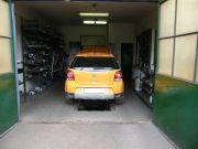 Volkswagen Polo country kipufogó szerelés, csere