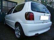 Volkswagen Polo sportkipufogó hátsódob ovál rozsdamentes díszvéggel