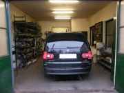 Volkswagen Sharan 4 motion 1.9 pdtdi kipufogó javítás, csere