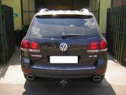 Volkswagen Touareg kipufogó optikai tuning