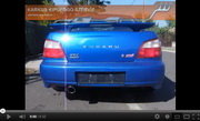 Subaru WRX STI Sportkipufogó szolid hangzással