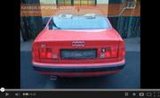 Audi S4 5 cyl. 2.2 20V sport kipufogó dob hang
