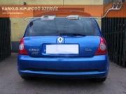 Renault Clio Sport 2.0 16V rejtett véges sportkipufogó szolíd hang