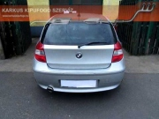 BMW 120D 2.0 turbo diesel sportkipufogó hang