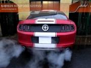 Ford Mustang V6 sportkipufogó hang