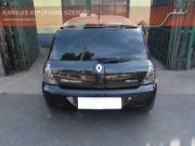Renault Clio II 1.4 16V rejtett véges sportkipufogó, halk hang