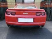 Chevrolet Camaro V8 sportkipufogó hang