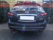 Infiniti QX 70 S V8 sportkipufogó hang
